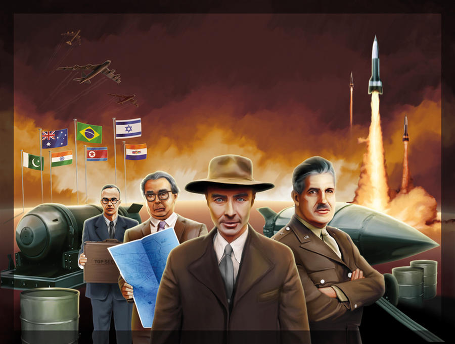 The Manhattan Project: Second Stage by anderpeich