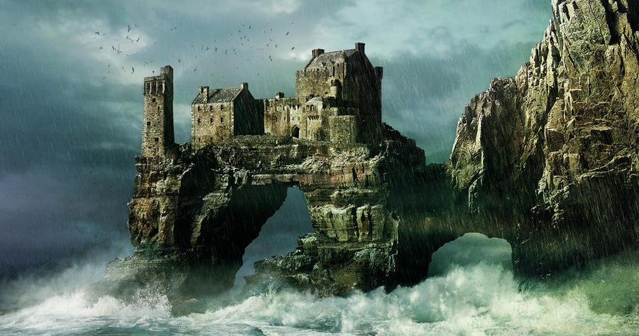 Matte Painting - Castle Geard