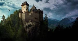 Matte Painting - Castle Ziebicki