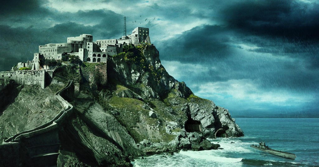 Matte painting - Saint-Andre-Apotre by anderpeich