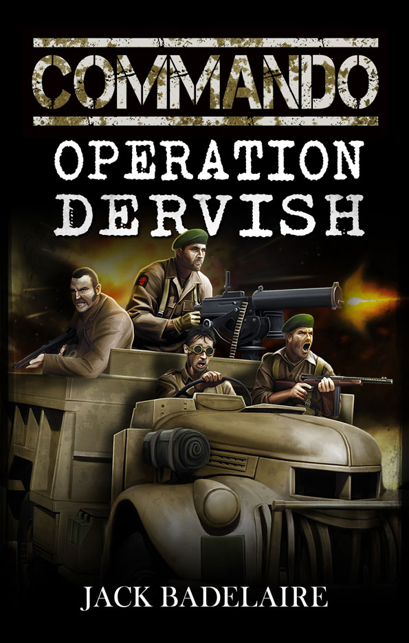 Book cover - Commando: Operation Dervish by anderpeich