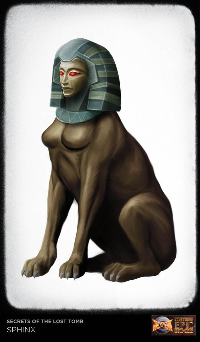 SOTLT - Sphinx by anderpeich