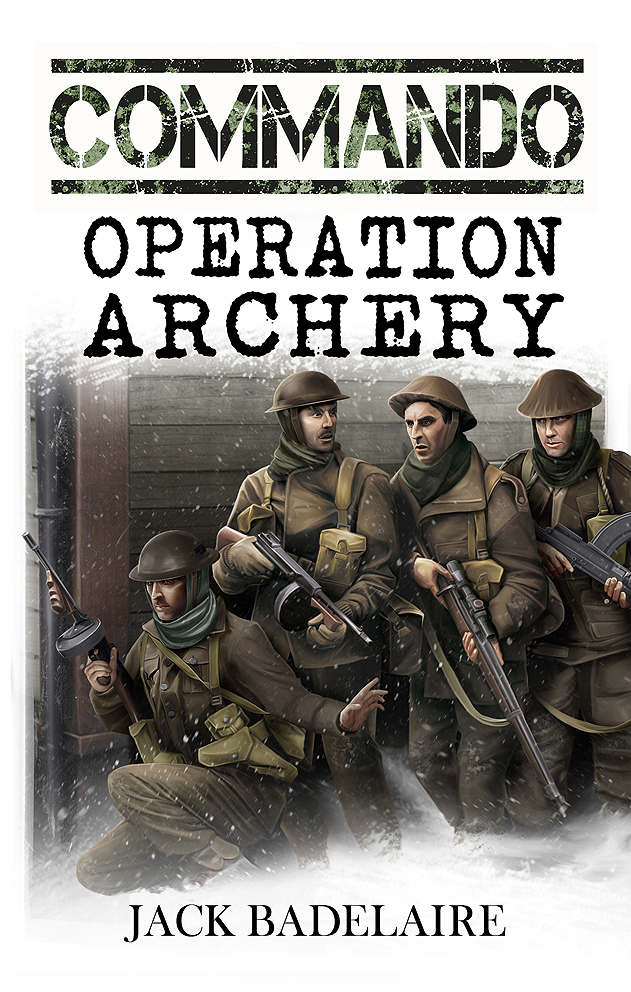 Book cover - Commando: Operation Archery by anderpeich