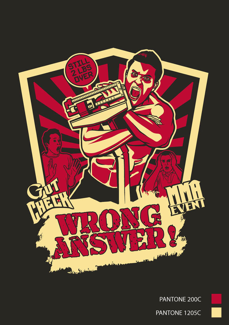 Commission - 'Wrong Answer' T-Shirt by anderpeich