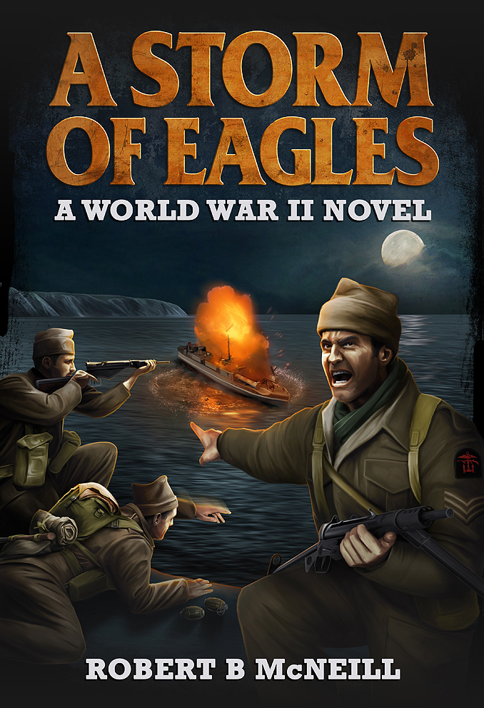Book cover - A Storm of Eagles by anderpeich