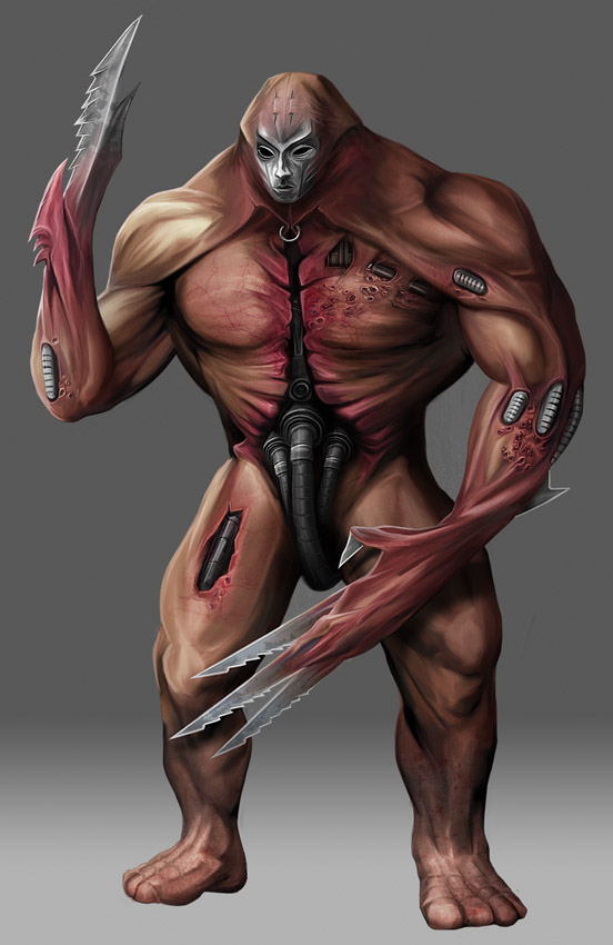 Kult - Flesh Machine Moster by anderpeich