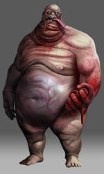Kult - Obese Creature by anderpeich