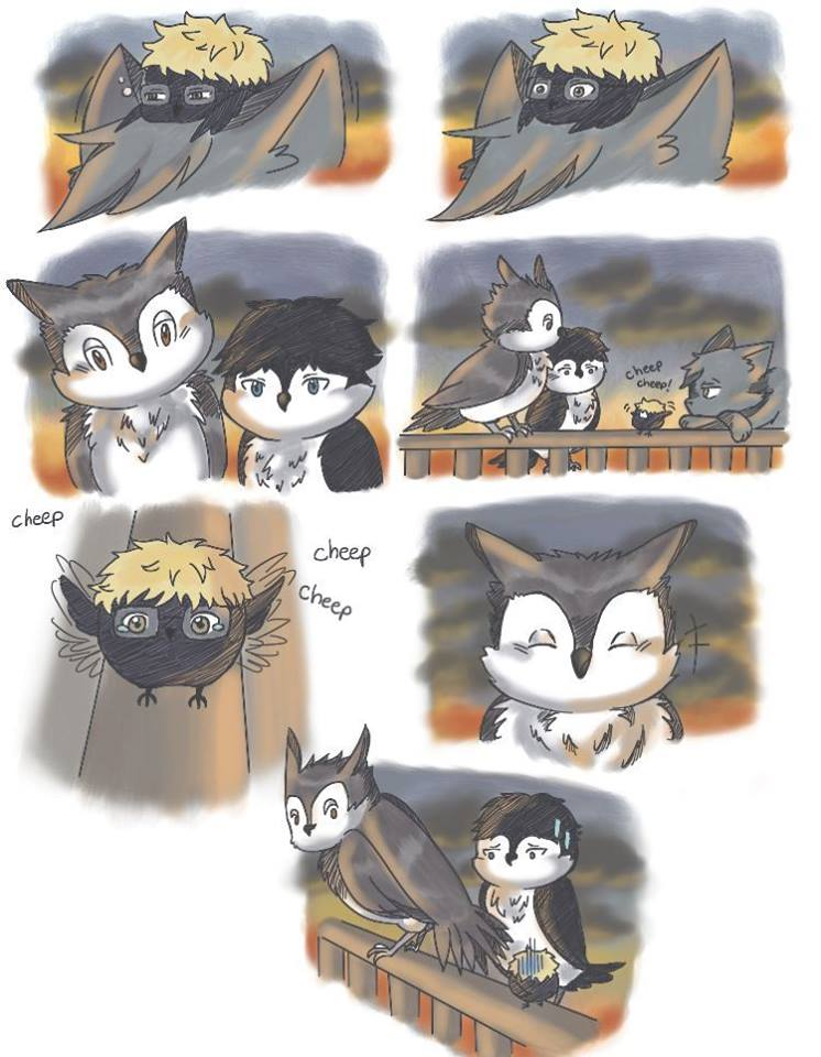 Haikyuu neko short story~~page 6:3 by Yobi58