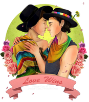 Commish: Love Wins by Decora-Chan
