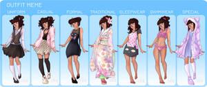 Outfit Meme - Rita by Decora-Chan