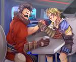 C: Tidus and Auron
