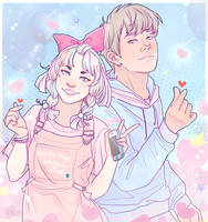 Heart Fingers by Decora-Chan