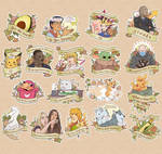 Meme Sticker Set by Decora-Chan