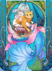 Mia the Mermaid by Decora-Chan