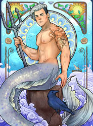 Casper the Merman by Decora-Chan