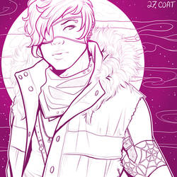 Inktober 27 - Coat by Decora-Chan