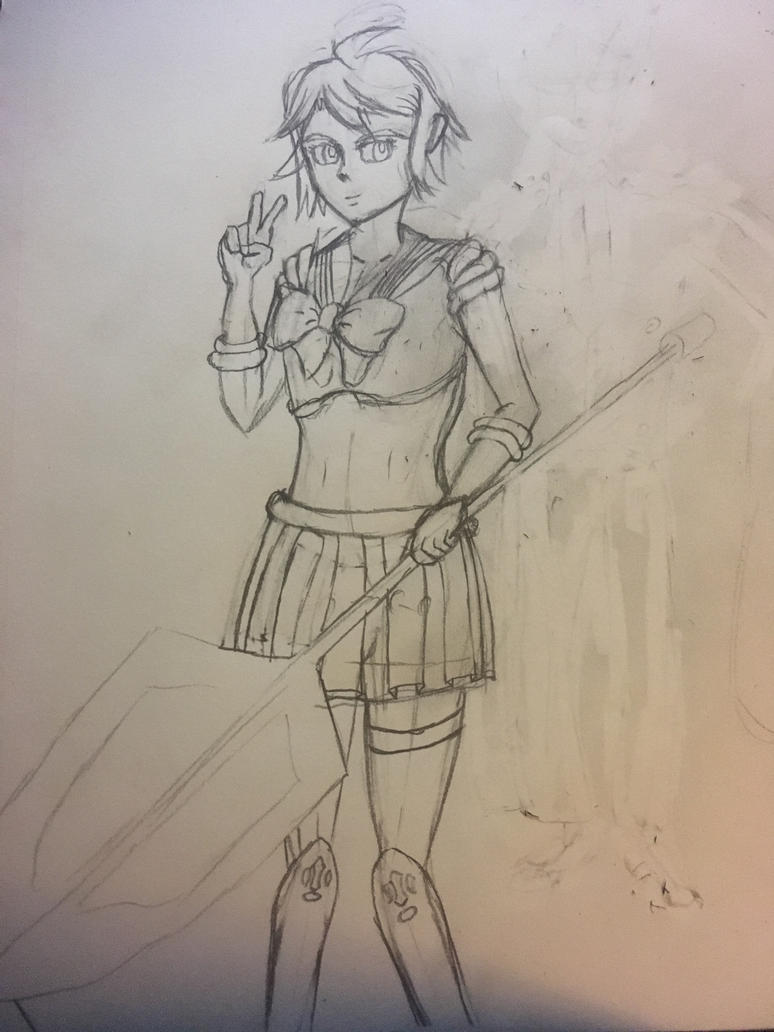 Sailor Mika Sketch by DJMurphy85