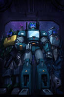 IDW Forum's coloring entry by fargnay