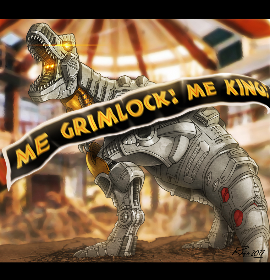 """Me Grimlock. Me King."" by fargnay"