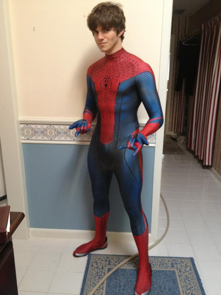 My Amazing Spiderman suit (v 1.0) by Immarumwhore ...  sc 1 st  DeviantArt & My Amazing Spiderman suit (v 1.0) by Immarumwhore on DeviantArt