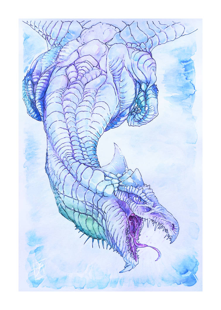 Dnd White Dragon: By SinisterParakeet On
