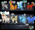 planet dogs - mega adopt set 001 - closed