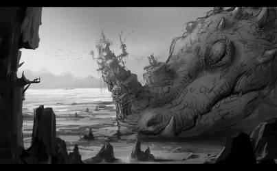 Dragon skech