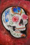 Realistic Sugar Skull