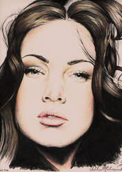 Megan Fox by SketchbookFlavor