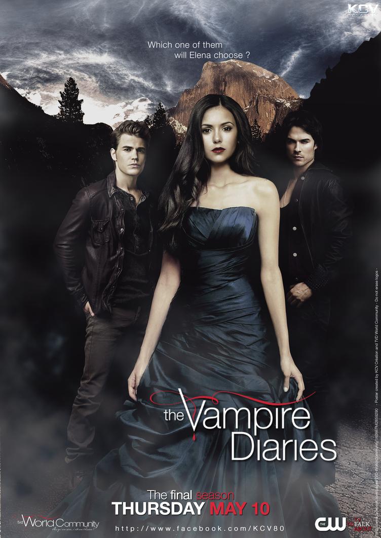 The Vampire Diaries (2012) Poster