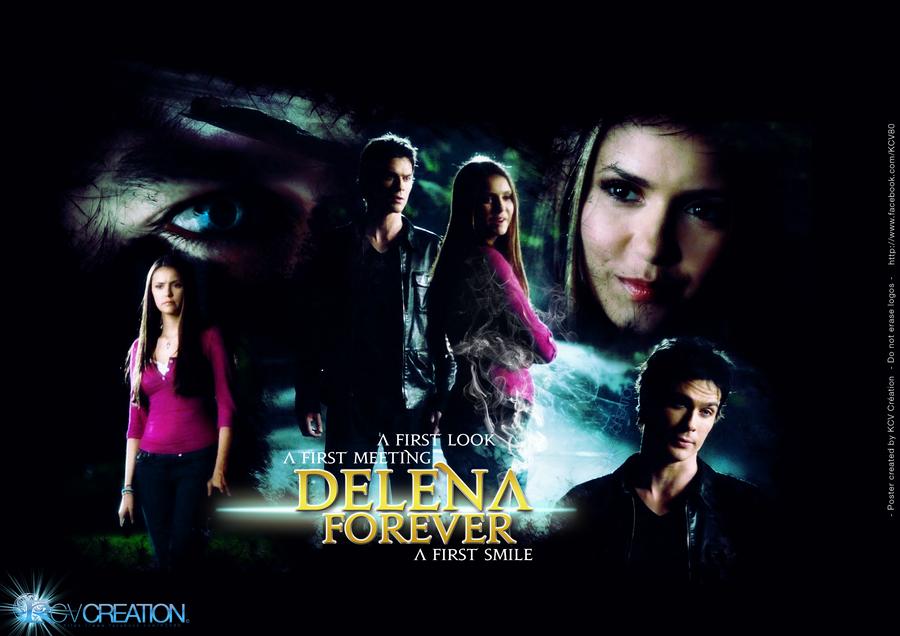 vampire diaries elena and damon first meet