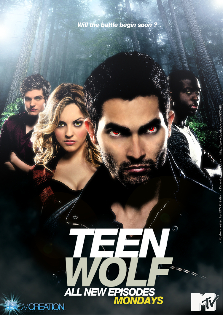 Poster promo Teen Wolf WereWolf by KCV80 on DeviantArt