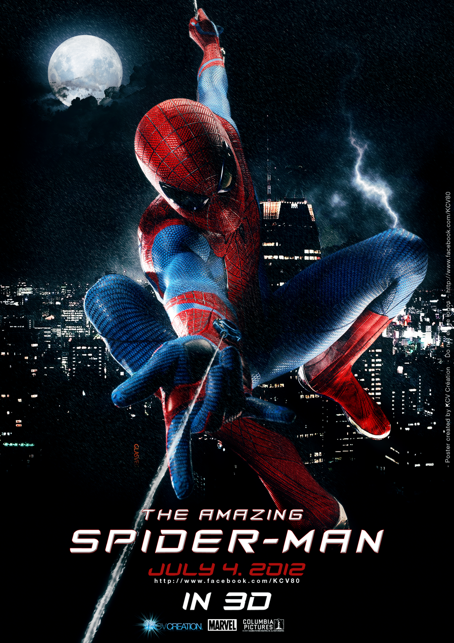 The amazing spider man 4 poster