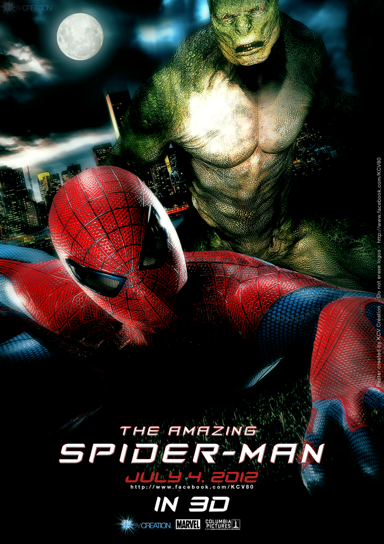 Poster The Amazing Spiderman 2 By KCV80