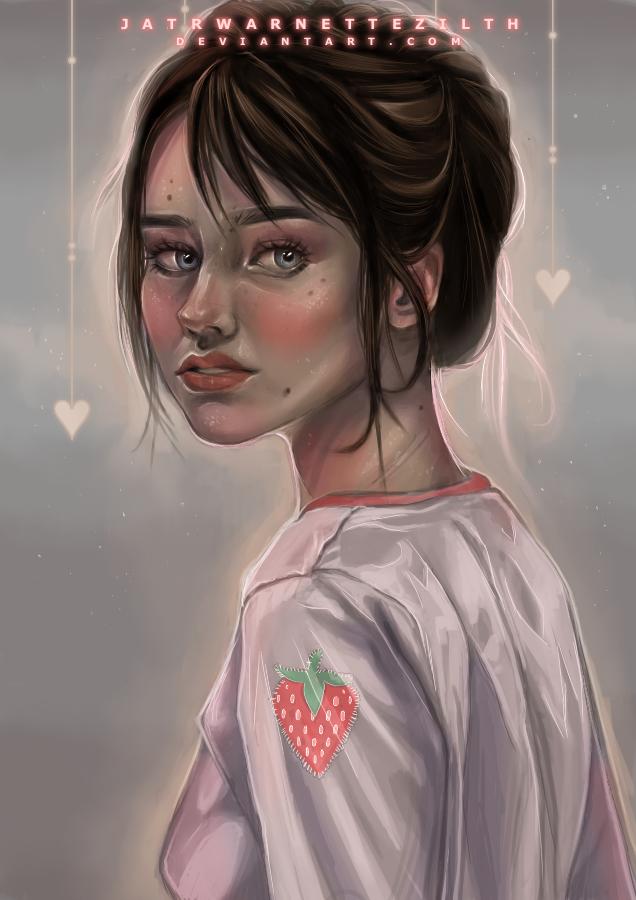 strawberry blush by Jatrwarnettezilth