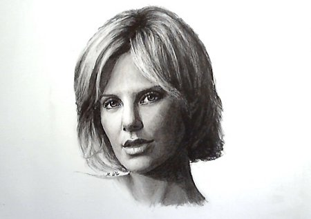 Charlize Theron by AlexMiK