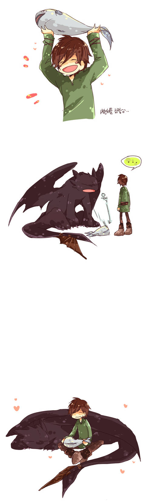 HTTYD - mealtime