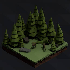 Isometric forest