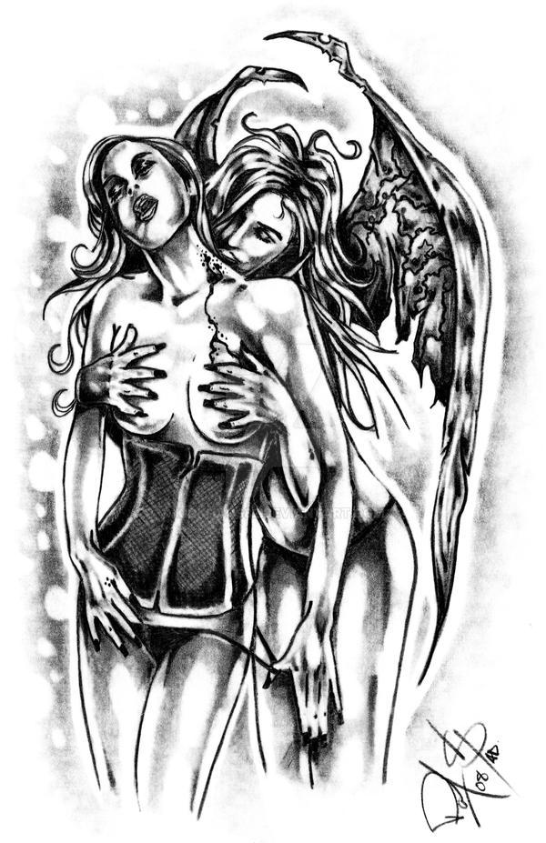 Vampire Lust by kidkhaos82