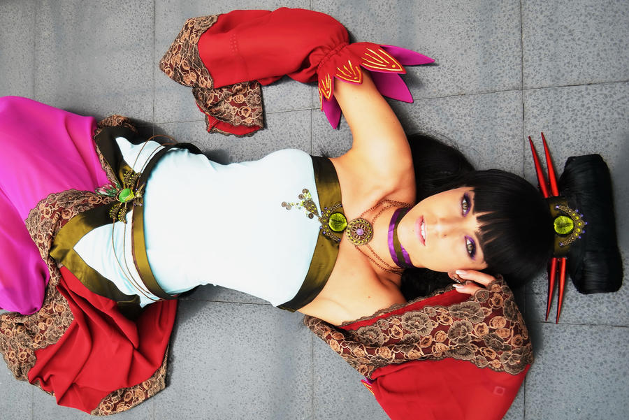 My Original Costume - Japan Expo First Day by LicorneZsu