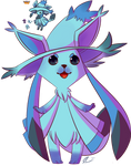 Pokesplice Glaceon And Mistrevious