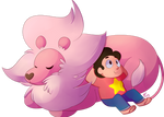 Steven And Lion