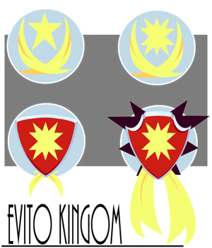 Evito Kingom Ranking Badges