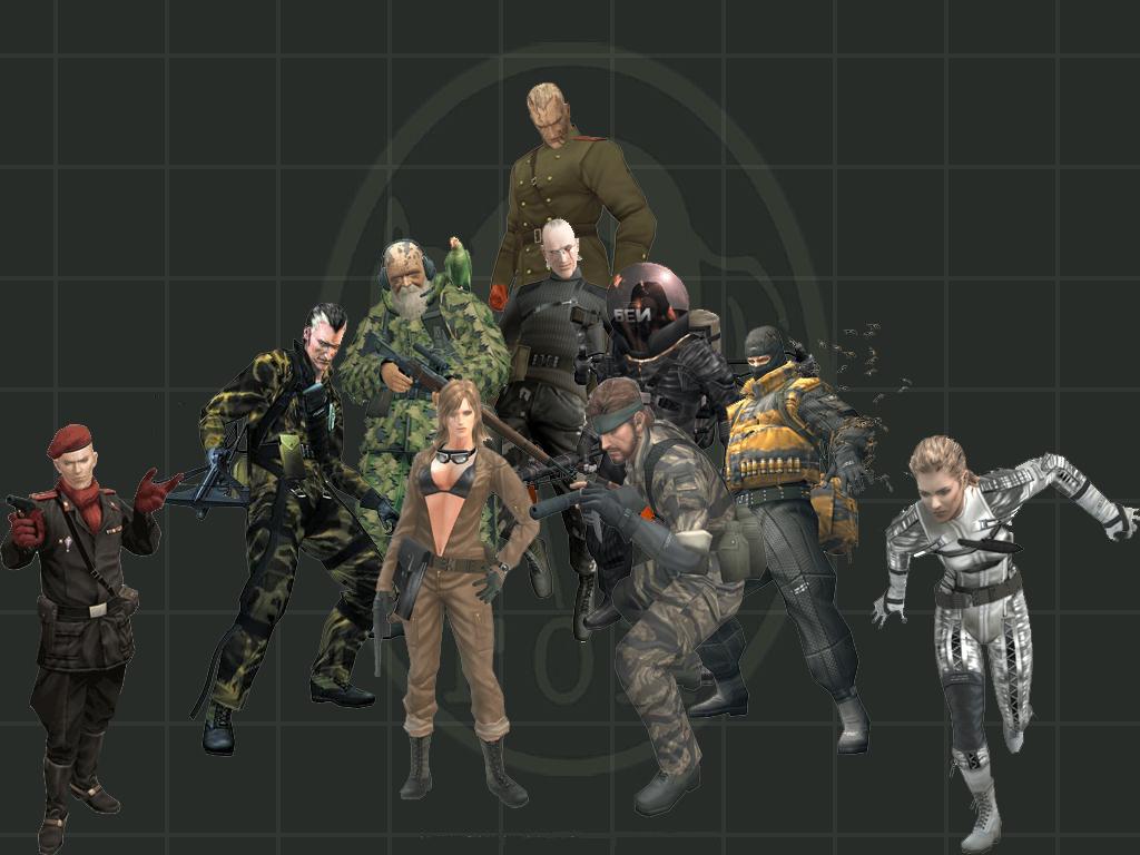 Metal Gear Solid 3 By Sonic5688 On Deviantart