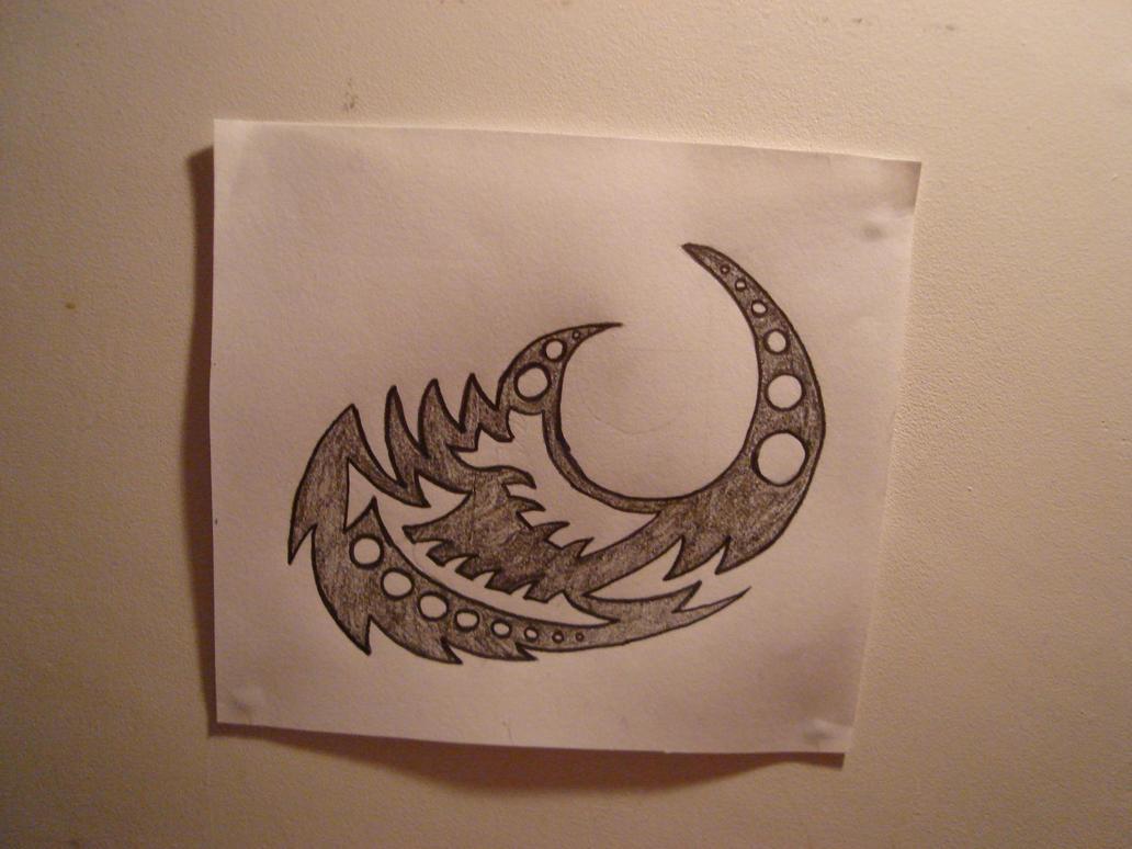 tribal tattoo blade by usb original on deviantart. Black Bedroom Furniture Sets. Home Design Ideas