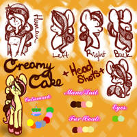 Creamy Cake Reference by Shifted-Anubis