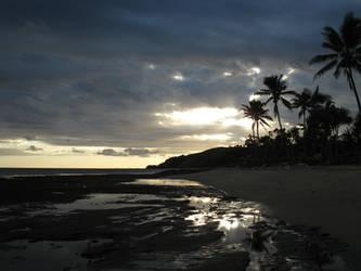 Fiji Sunset 2 by microUgly