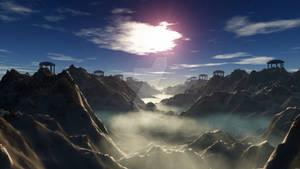 Light above the fog