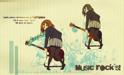 Music rocks by Sachiko-O