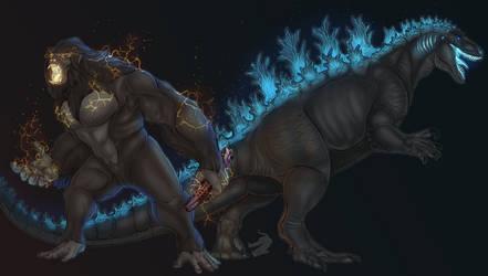 protectors of earth (REDRAW) by austroraptorcabazai